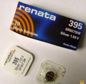 Батарейка RENATA 395