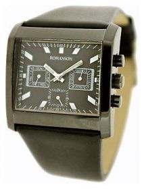 Часы ROMANSON DL6134SMB(BK)